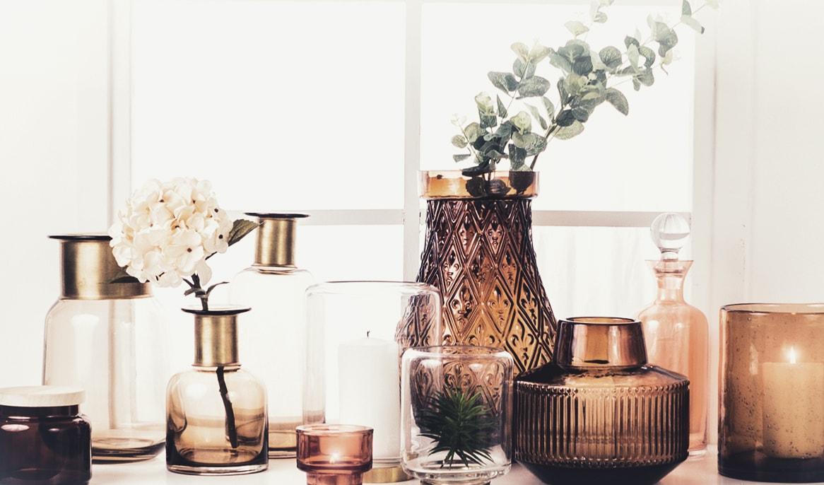 Vaser til indretning